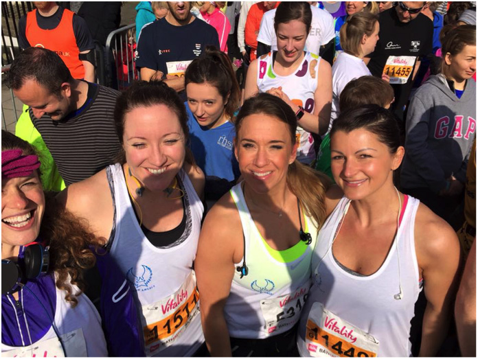 Running the Bath Half Marathon for After Umbrage – Go Girls!