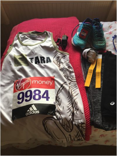 One of a million and one in a million – Tara runs the London Marathon