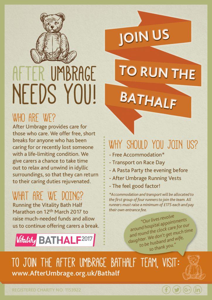 After Umbrage Bathalf Poster