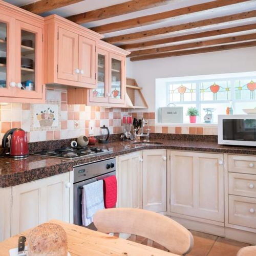 Kitchen of Rental Holiday Cottage in Bath