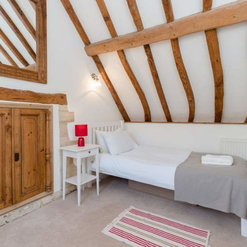 Bedroom of of Rental Holiday Cottage in Bath