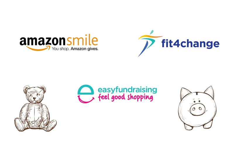 Fundraising logos